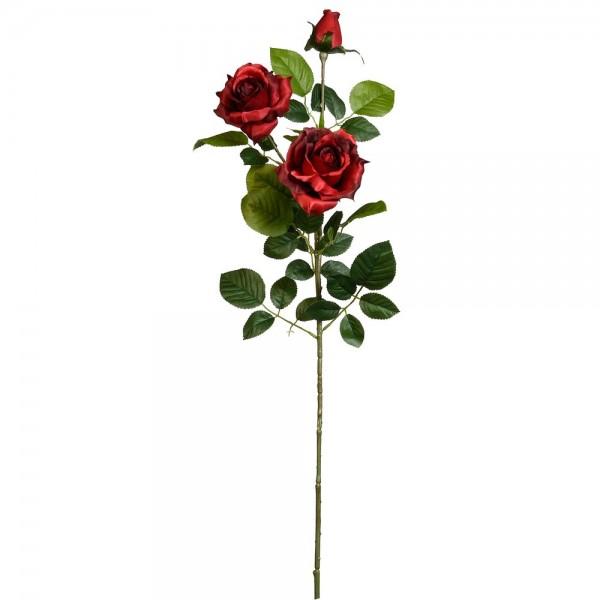 Roskvist Luxor med 3 blommor