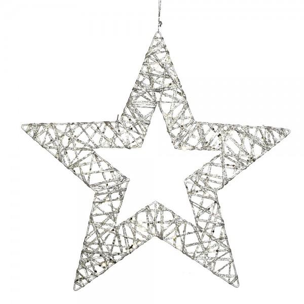 Stjärna Glitterstar Kontur
