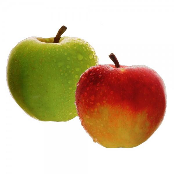 Tryck äpple, dubbelsidig
