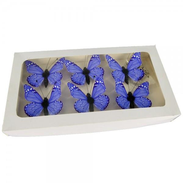Fjäril (magnet & clip)